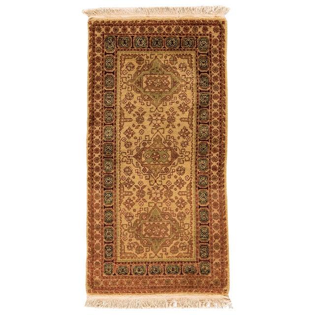 """Vintage Tabriz Rug, 2'2"""" x 4'6"""" For Sale"""