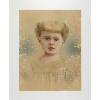 Ethereal Distressed Hand Tinted Photographic Portrait Preview