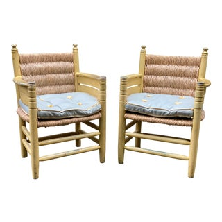 1990s Vintage Papa Bear Chairs - a Pair For Sale