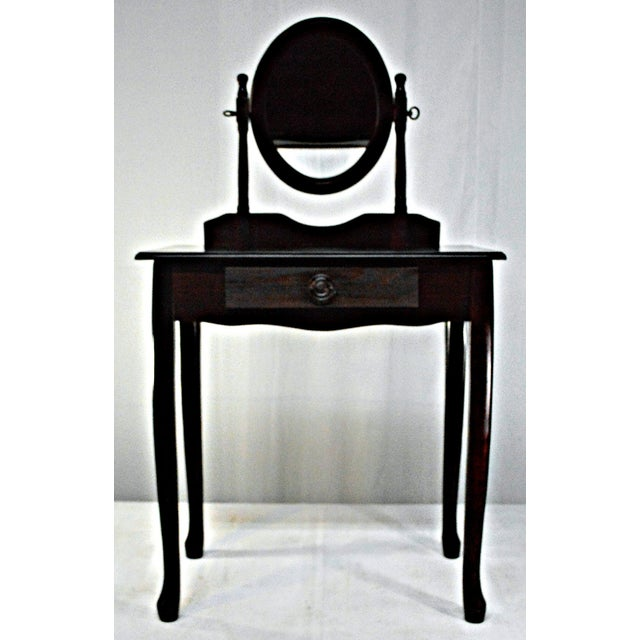 Cuban Mahogany Vanity For Sale - Image 10 of 10