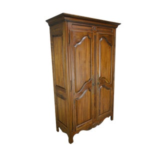 Ethan Allen Country French Collection Large 2 Door Armoire Cabinet For Sale