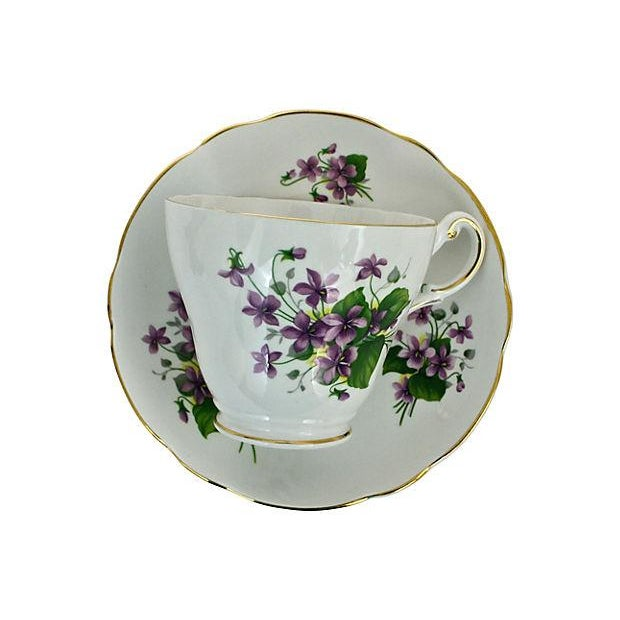 Bone China Cup & Saucer - A Pair - Image 5 of 7