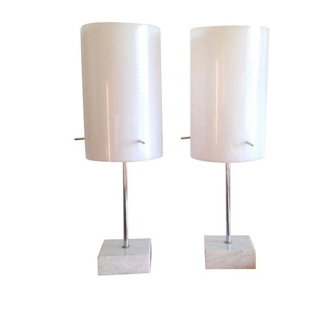 1960's Paul Mayen Habitat Table Lamps - Pair - Image 1 of 10