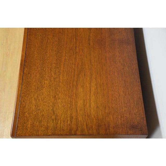 Brown Sligh Furniture Mahogany Dresser For Sale - Image 8 of 11