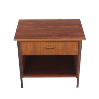 Danish Modern Teak End Table or Night Stand For Sale