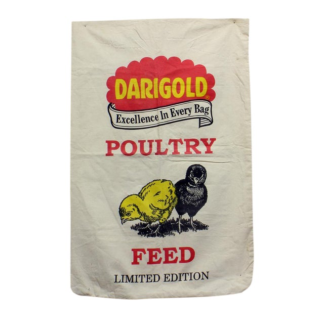 Vintage Darigold Chicken Feed Sack - Image 1 of 3
