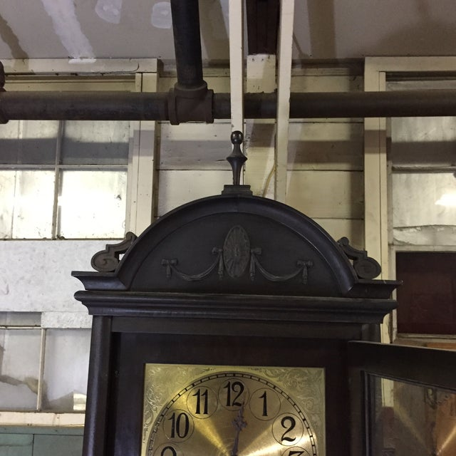 Colonial MFG Grandfather Clock - Image 6 of 6