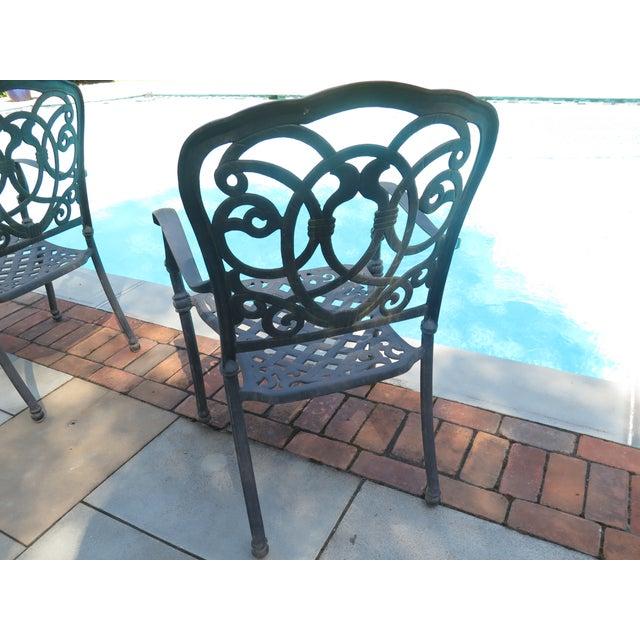 Terrific Darlee Cast Aluminum Table Chair Patio Set Set Of 11 Home Interior And Landscaping Spoatsignezvosmurscom