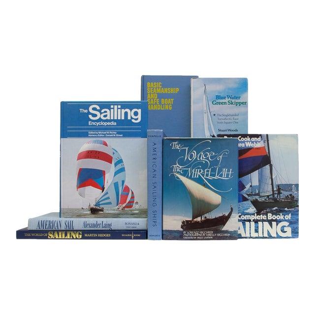Vintage Sky Sailing Books - Set of 20 For Sale