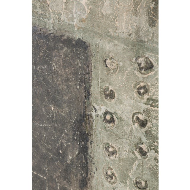 Mid-Century Modern Framed Relief Painting For Sale - Image 3 of 7