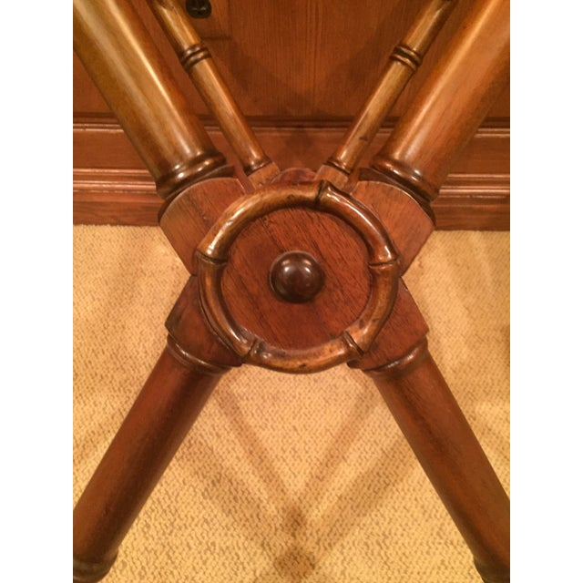 Selamat Designs 1990s Anglo- Indian Tray Table For Sale - Image 4 of 6
