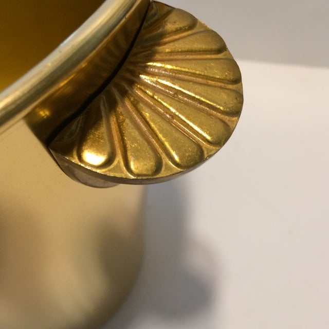 Gloria Ferrer Gold Anodized Aluminum Champagne Bucket For Sale - Image 10 of 11