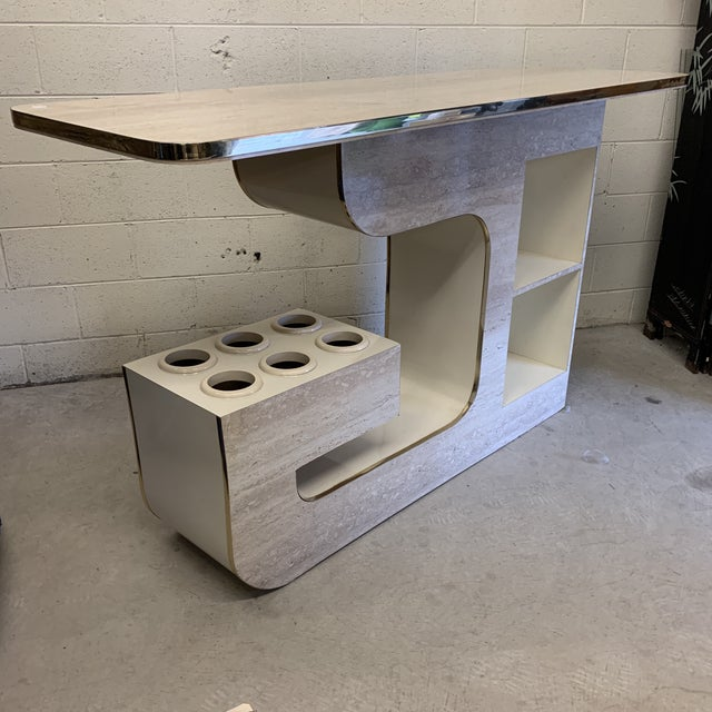 Groovy 1970s Bar For Sale - Image 10 of 13