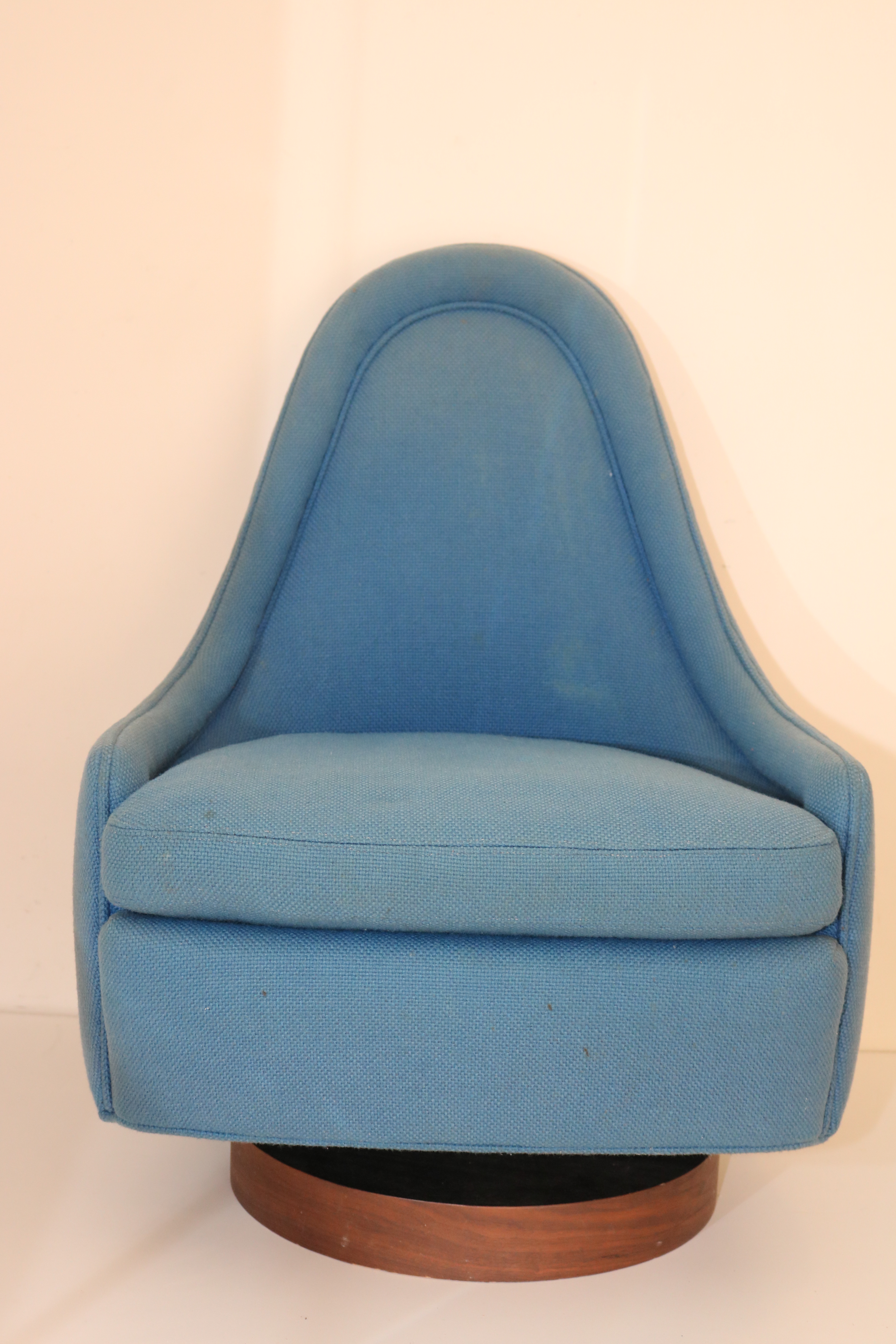 Vintage Milo Baughman Childu0027s Swivel Tilt Chair   Image 2 Of 13
