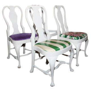 1940s Vintage Dorothy Draper Side Chairs- Set of 4 For Sale