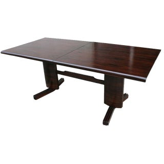 l'Atelier 1950s Brazilian Jacaranda Dining Table For Sale