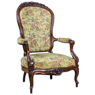 19th Century Neo-Rococo Armchair For Sale