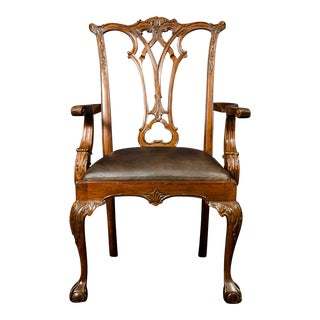 English Arm Chair For Sale