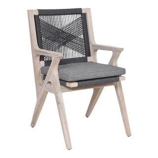 Bellevue Outdoor Teak Dining Chair For Sale