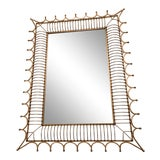 Image of Bunny Williams Rex Gold Mirror For Sale