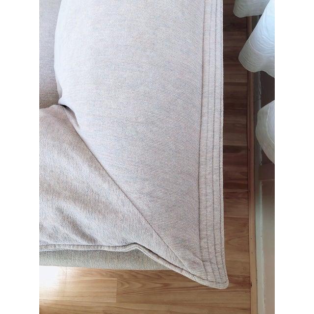 Blush N. Eilersen Danish Modern Down Sofa For Sale - Image 8 of 13
