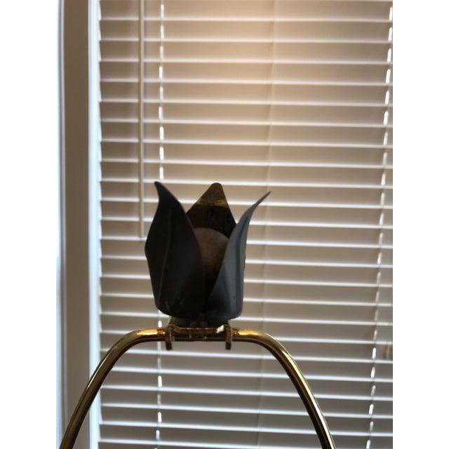Laurel Wreath Lamp For Sale - Image 4 of 9