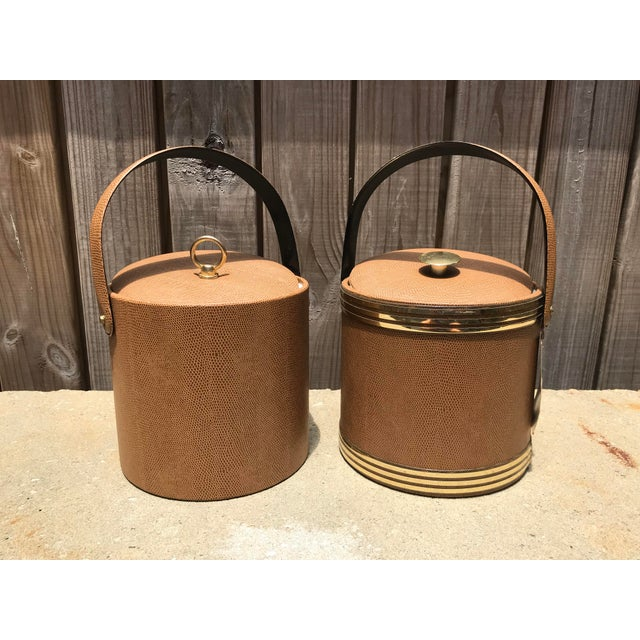 1960s Mid-Century Modern George Briard Ice Buckets - A Pair For Sale In Houston - Image 6 of 6