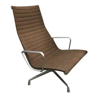 1970s Vintage Eames for Herman Miller Aluminum Group Lounge Chair For Sale