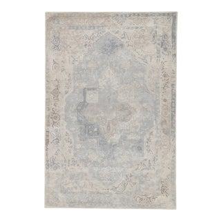 Jaipur Living Bronde Handmade Medallion Gray/ Light Blue Area Rug - 9' X 12' For Sale