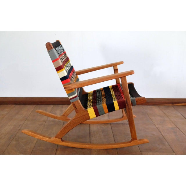 Mid Century Modern Rocking Chair For Sale - Image 6 of 8