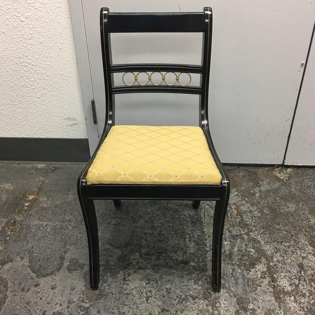 Vintage Secretary Desk & Chair - A Pair - Image 9 of 11