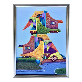 Surrealistic Landscape by Orfran/2017 For Sale
