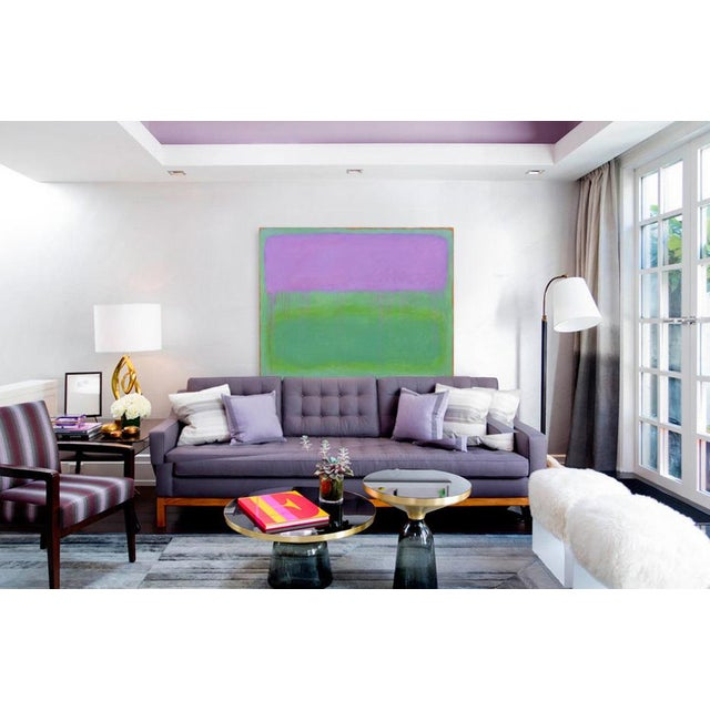 """Contemporary Abstract Painting """"Weeping Cherry"""" by Stephen Remick For Sale - Image 10 of 13"""