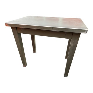 1960s Mid Century Modern Cole Steel Metal Desk For Sale