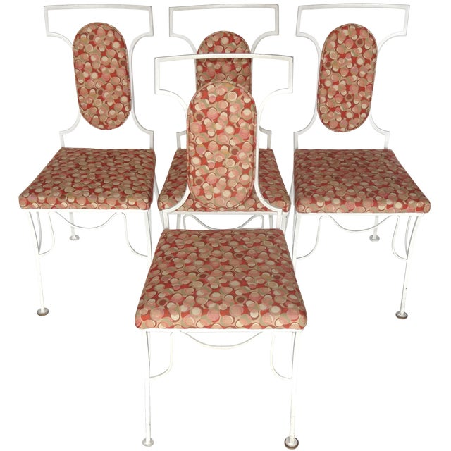 Mid-Century Modern Metal Chairs - Set of 4 - Image 1 of 8