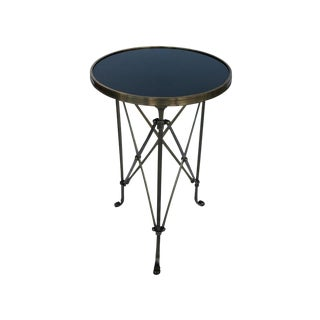 French Classic Style Gueridon Side Table With Marble Top For Sale