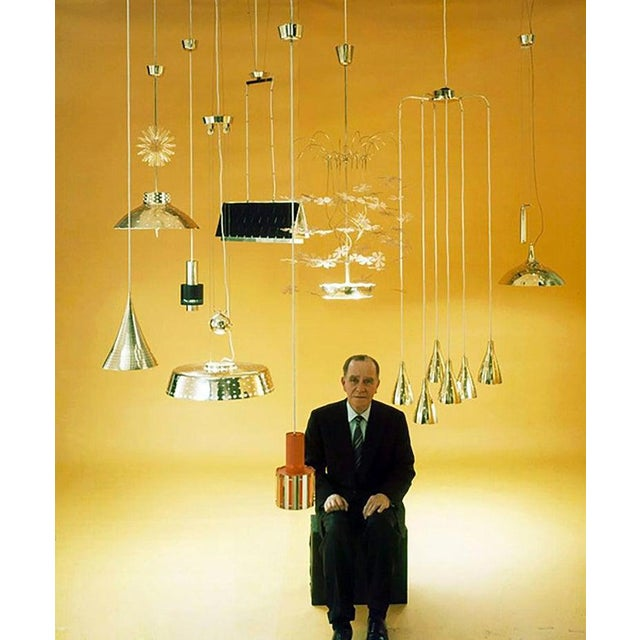1950s Rare and Important Paavo Tynell 'Fantasia' Snowflake Chandelier for Taito Oy For Sale - Image 5 of 12