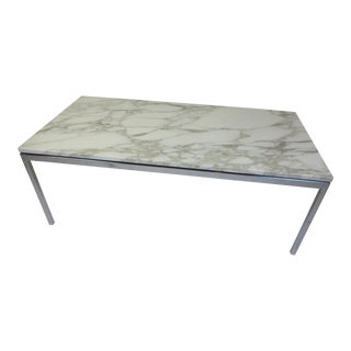 Florence Knoll for Knoll Marble and Steel Coffee Table