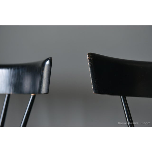1950s Vintage Paul McCobb Planner Group Chairs- A Pair For Sale - Image 9 of 13