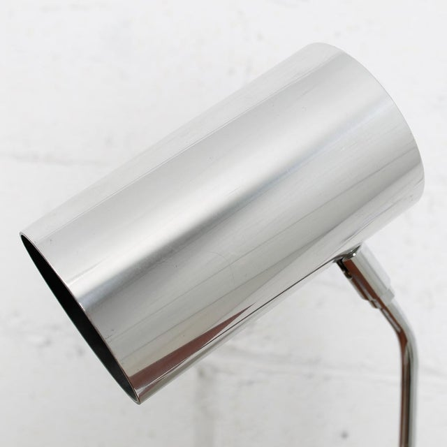 70's Koch And Lowy Style Chrome Desk Lamp - Image 2 of 6
