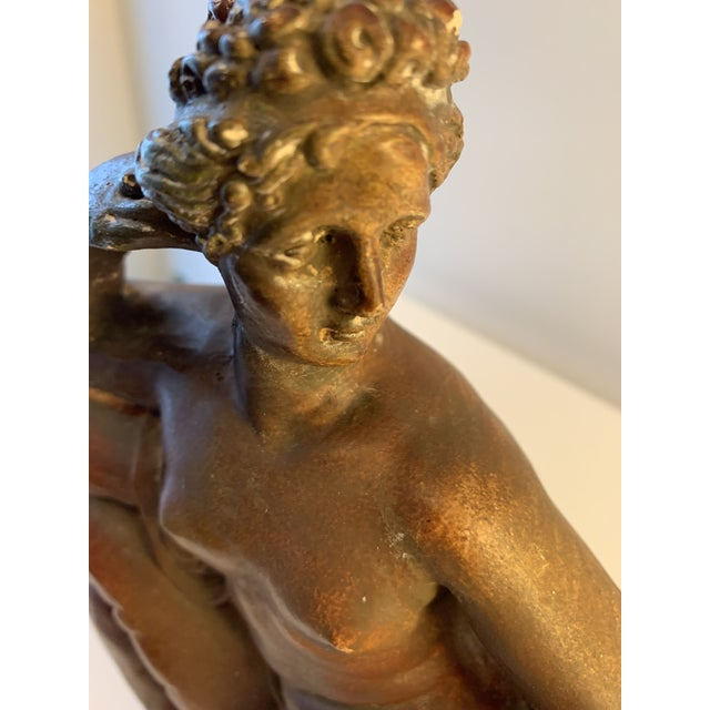 Plaster Reclining Female Figure Sculpture For Sale - Image 10 of 12