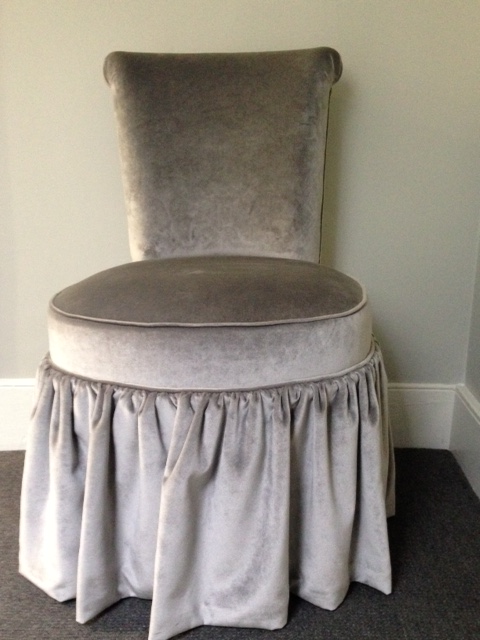 Superb Mariete Himes Gomez Skirted Slipper Chair   Image 2 Of 7