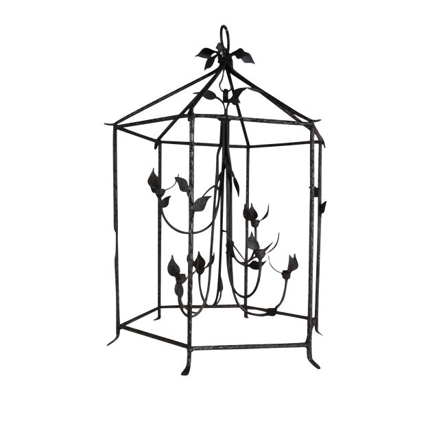 Giacometti Inspired Lantern For Sale