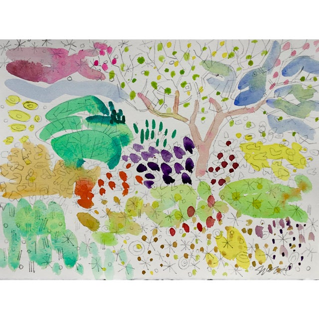 2010s Butchart Garden Watercolors - Set of 4 For Sale - Image 5 of 6