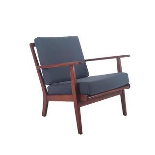 Vintage Danish Modern Teak Lounge Chair