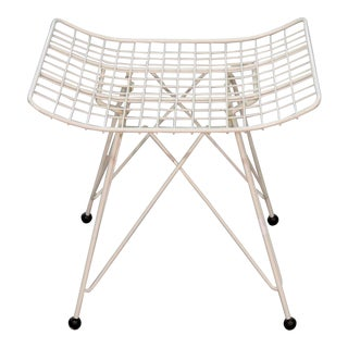 Knoll Iron Eiffel Tower Base Stool For Sale