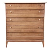 Image of Heywood Wakefield Mid-Century Modern Highboy Dressers For Sale