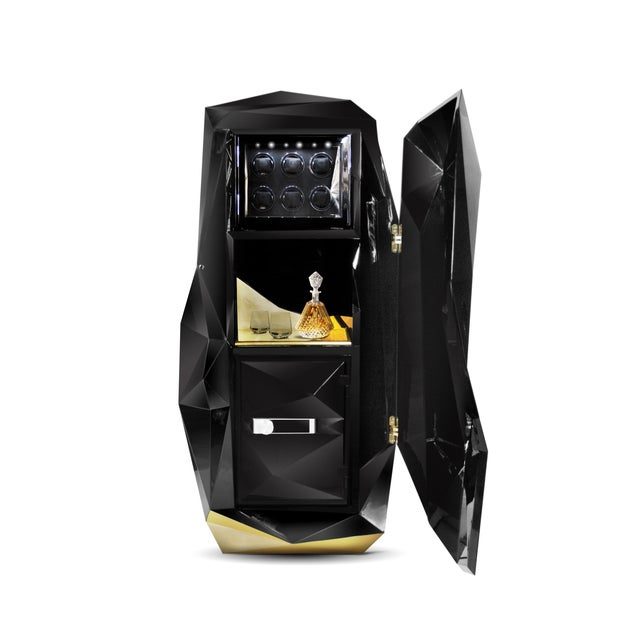 Contemporary Diamond Luxury Safe From Covet Paris For Sale - Image 3 of 5