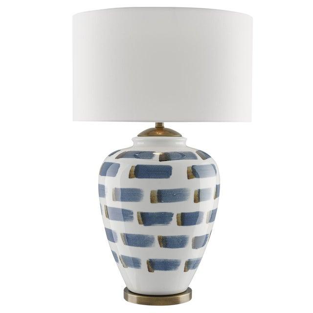 Brushstroke Table Lamp For Sale