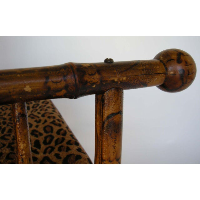 Antique 19th Century Victorian Bamboo Photographer's Chair For Sale - Image 11 of 11